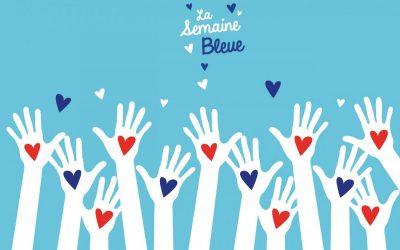 La Semaine bleue avec les élèves du Lycée Jacques-Brel