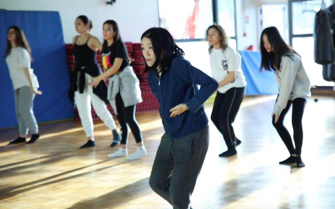 Atelier danse avec Kaori Ito et le centre Houdremont